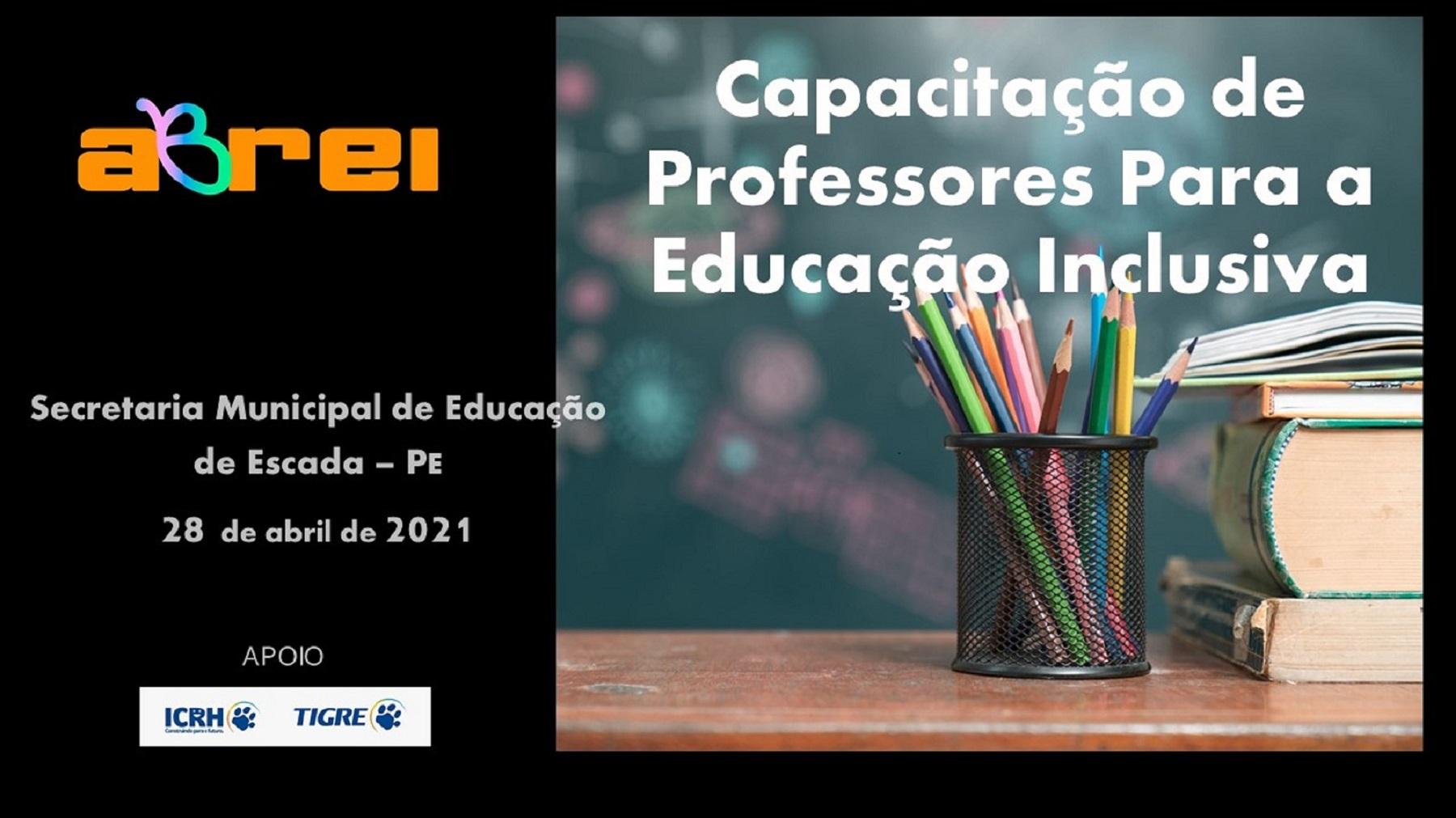 Capacitação de Professores para Educação Inclusiva