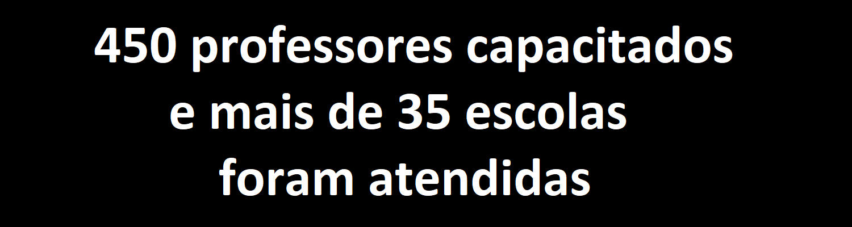 450 professores capacitados