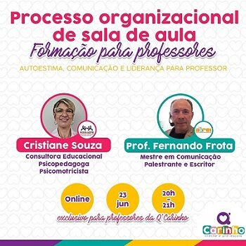 Processo organizacional de sala de aula